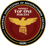 National Association of Distinguished Counsel - The Nation's Top One Percent